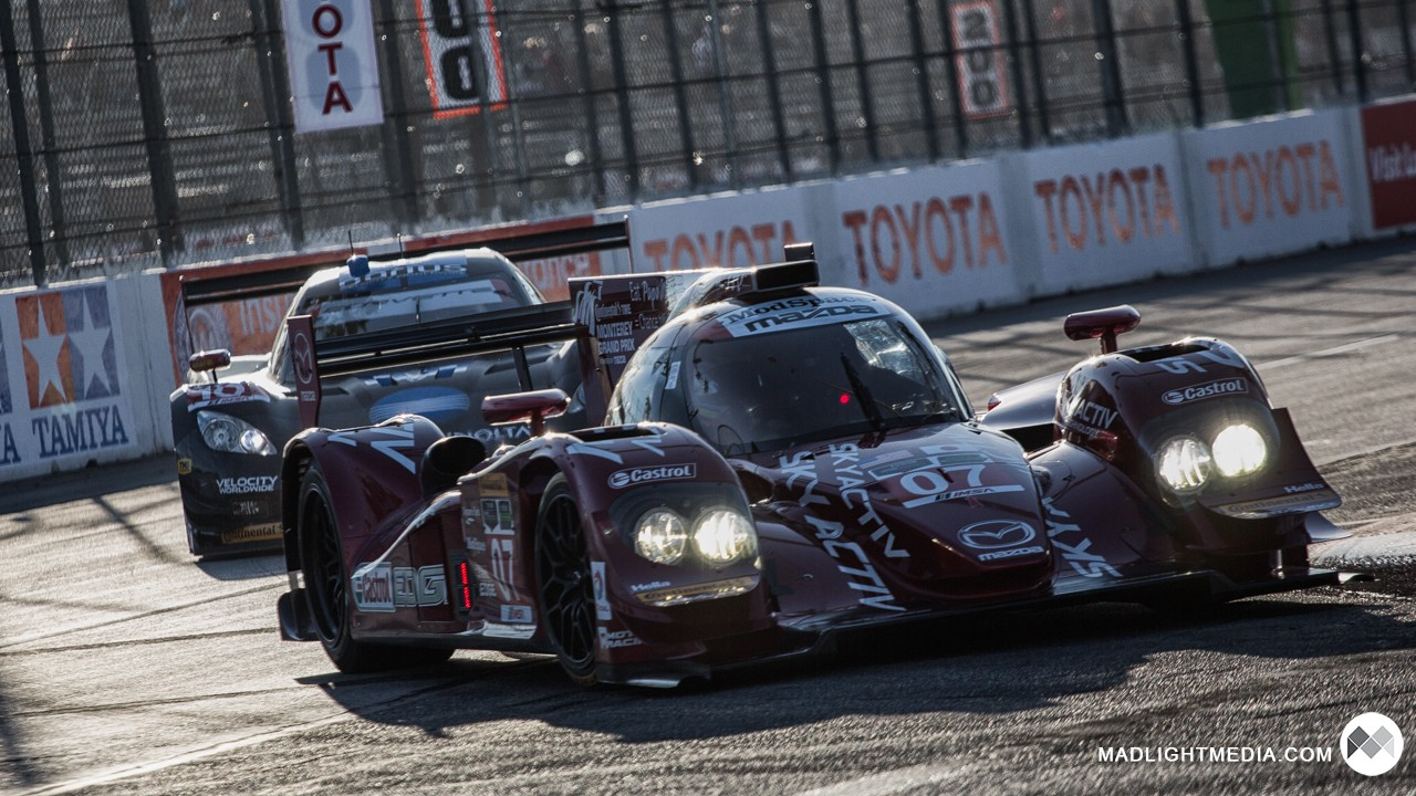 Le Mans Prototypes at Long Beach Grand Prix