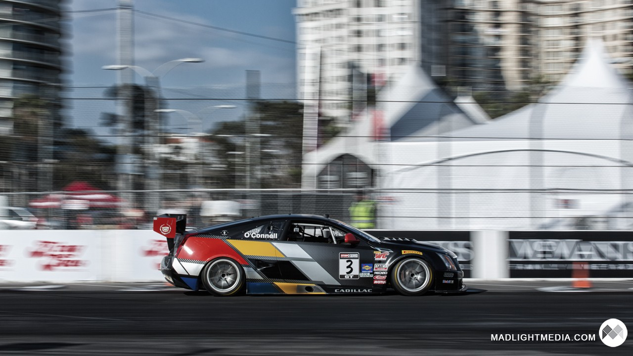 Pirelli World Challenge car at Long Beach