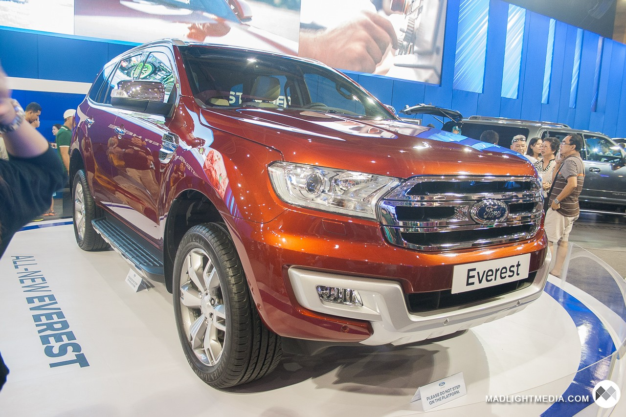 The New Ford Everest